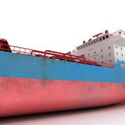 船タンカーの石油貨物 3d model