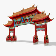Arco Chinês 3d model