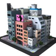 Japan Stadtblock 3d model