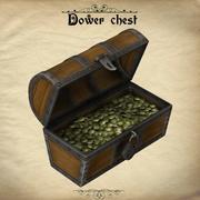 Dower chest 3d model