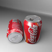 Canette de boisson gazeuse Coca-Cola 3d model