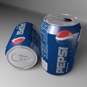 Pepsi Soft Drink Can 3d model