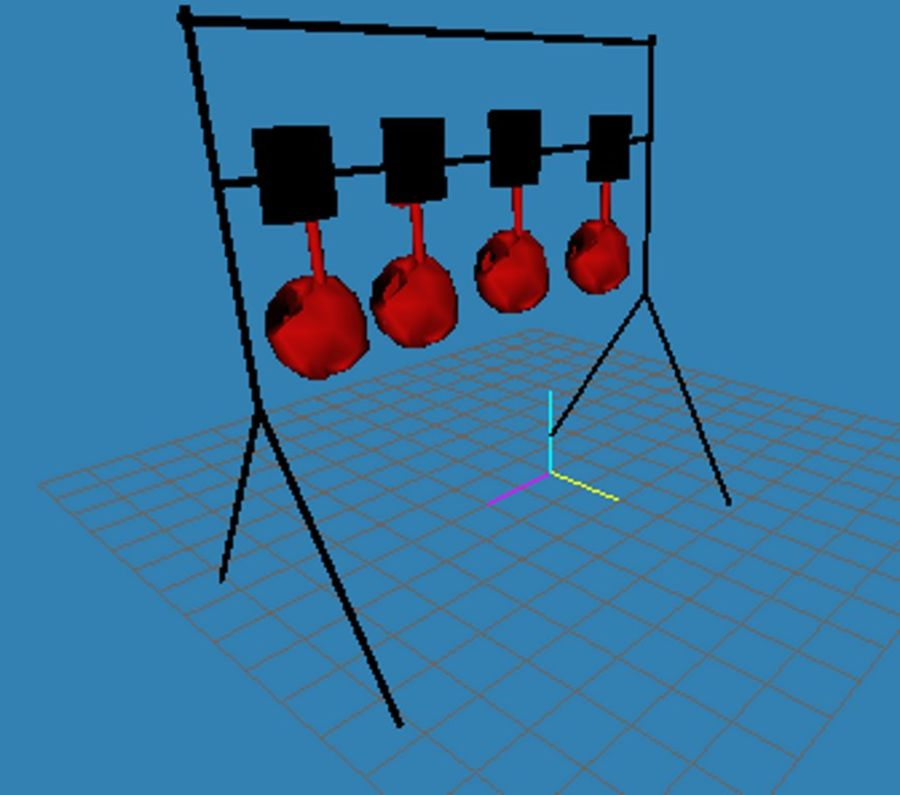 Model -Reset Target royalty-free 3d model - Preview no. 5