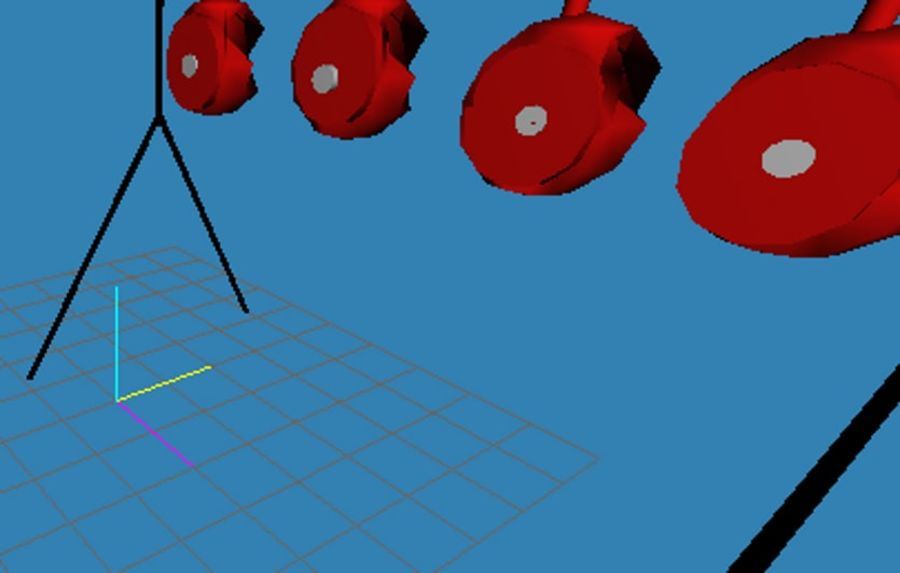 Model -Reset Target royalty-free 3d model - Preview no. 4