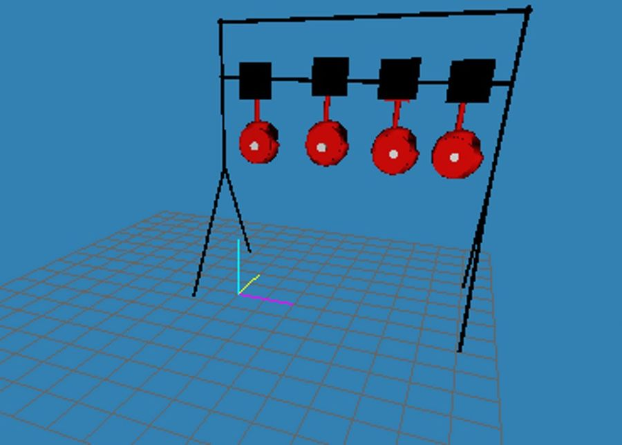 Model -Reset Target royalty-free 3d model - Preview no. 1