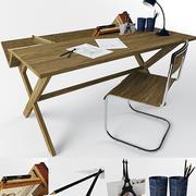 arredamento sedia da tavolo 3d model