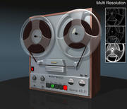Reel tape recorder 3d model