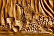 (1105) Model STL do plotera CNC, drukarki 3D, Aspire, Artcam 3d model
