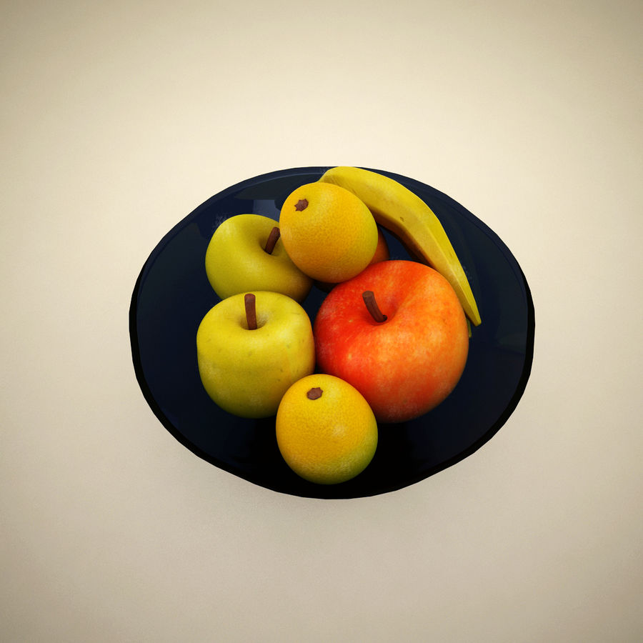 Fruit royalty-free 3d model - Preview no. 3