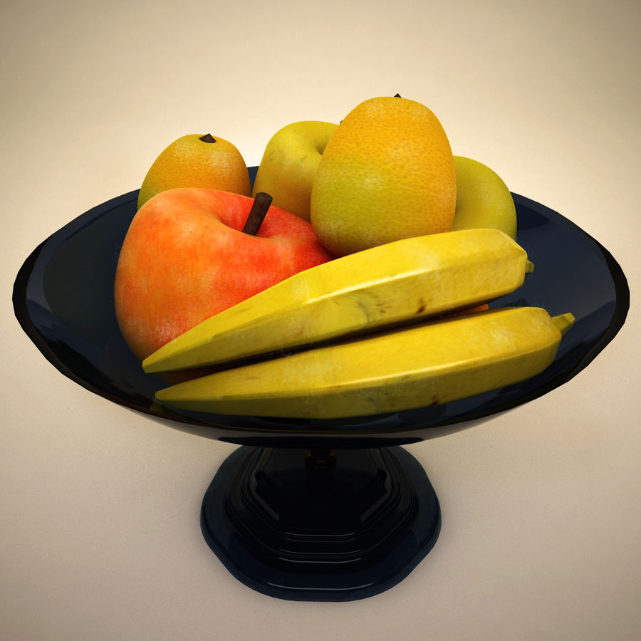 Fruit royalty-free 3d model - Preview no. 4