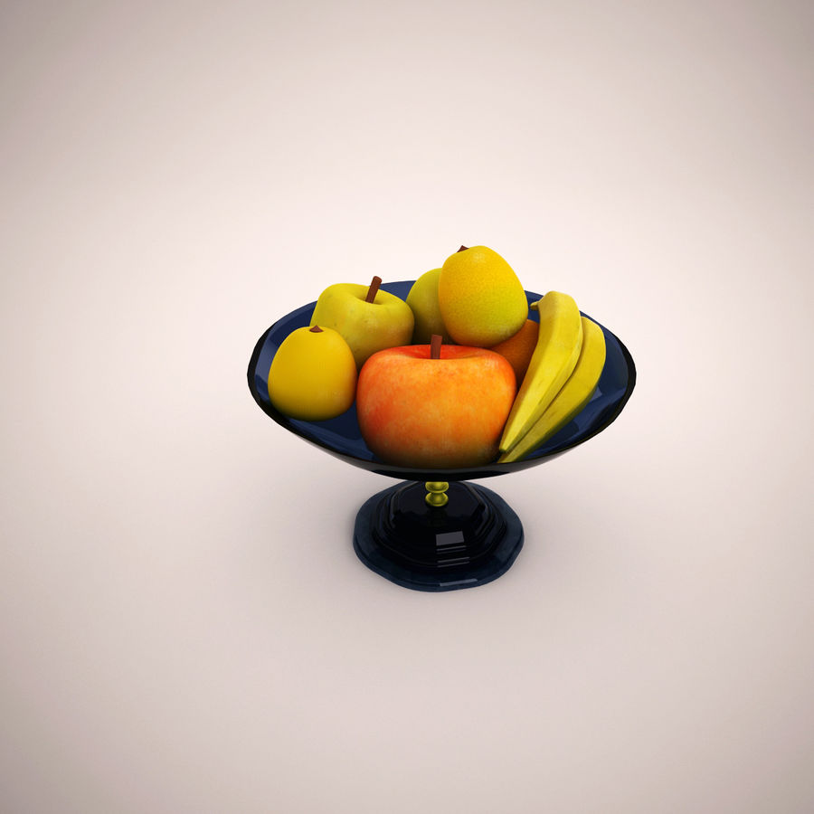 Fruit royalty-free 3d model - Preview no. 2