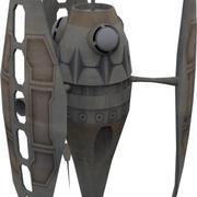 Dyn Shield-zender 3d model