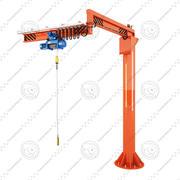 Crane Loader 3d model