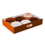 ボックスのドーナツ 3d model