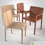 Silla y sillón Laleggera modelo 3d
