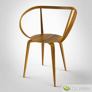 Pretzel Chair by George Nelson 3d model