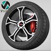 Wheel 4go 5247 3d model