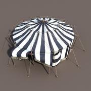 Namiot cyrkowy 3d model