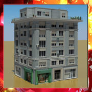 建筑33 3d model