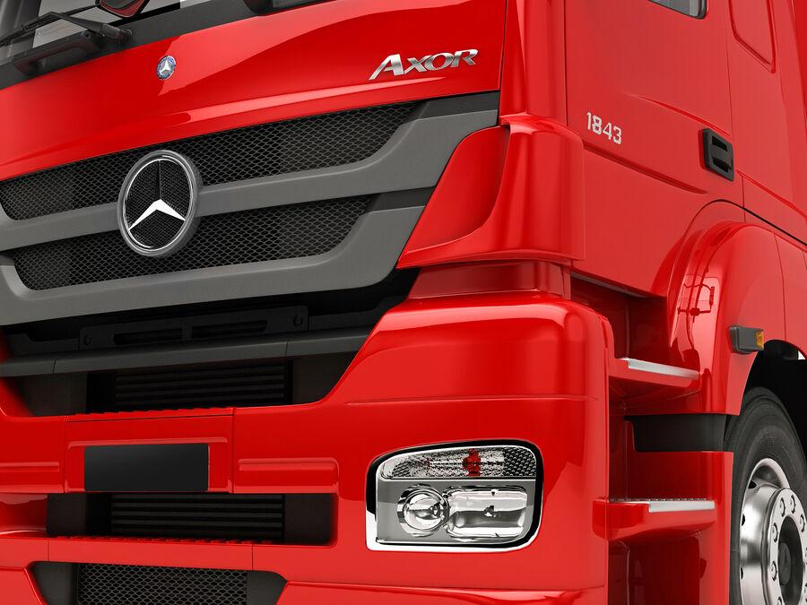 Mercedes Axor (przyczepa cementowa) royalty-free 3d model - Preview no. 18