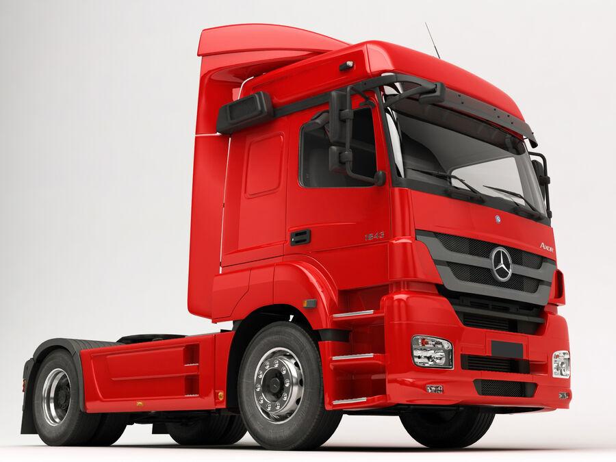 Mercedes Axor (przyczepa cementowa) royalty-free 3d model - Preview no. 14