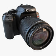 Canon EOS Rebel T4i 18-55mm 3d model