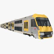EMUシティレールAセット旅客列車 3d model
