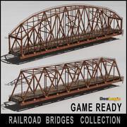 Коллекция железнодорожных мостов 3d model