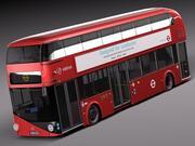 Ônibus LT2 de Londres (LT61 BHT) Arriva 3d model