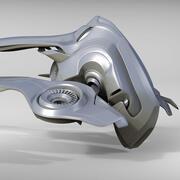 Sci Fi宇宙船 3d model