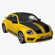 VWビートルGSR 2014 3d model