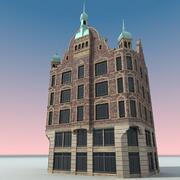 유럽 건물 033 코펜하겐 3d model