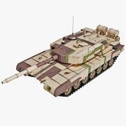 Arjun India Main Battle Tank 3d model