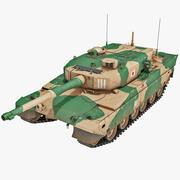 Tanque de batalla principal de Japón Tipo 90 modelo 3d