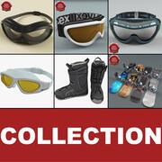 Snowboard Collection v2 3d model