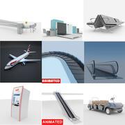 空港コレクション 3d model