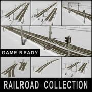 Railroad Colletion 3d model