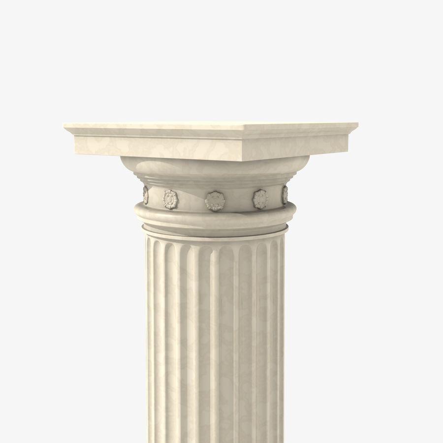Antique Columns royalty-free 3d model - Preview no. 3