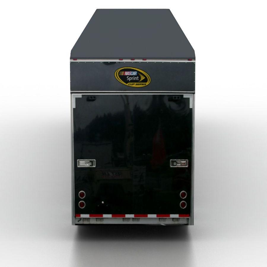 Trailer NASCAR royalty-free 3d model - Preview no. 5