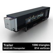 Trailer NASCAR 3d model