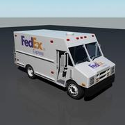 FedEx-Lieferwagen 3d model