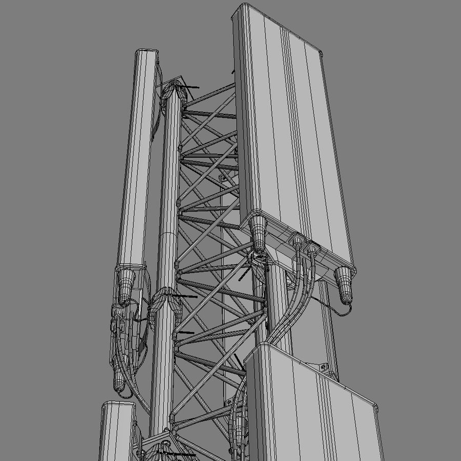 Cell Antenna A royalty-free 3d model - Preview no. 8