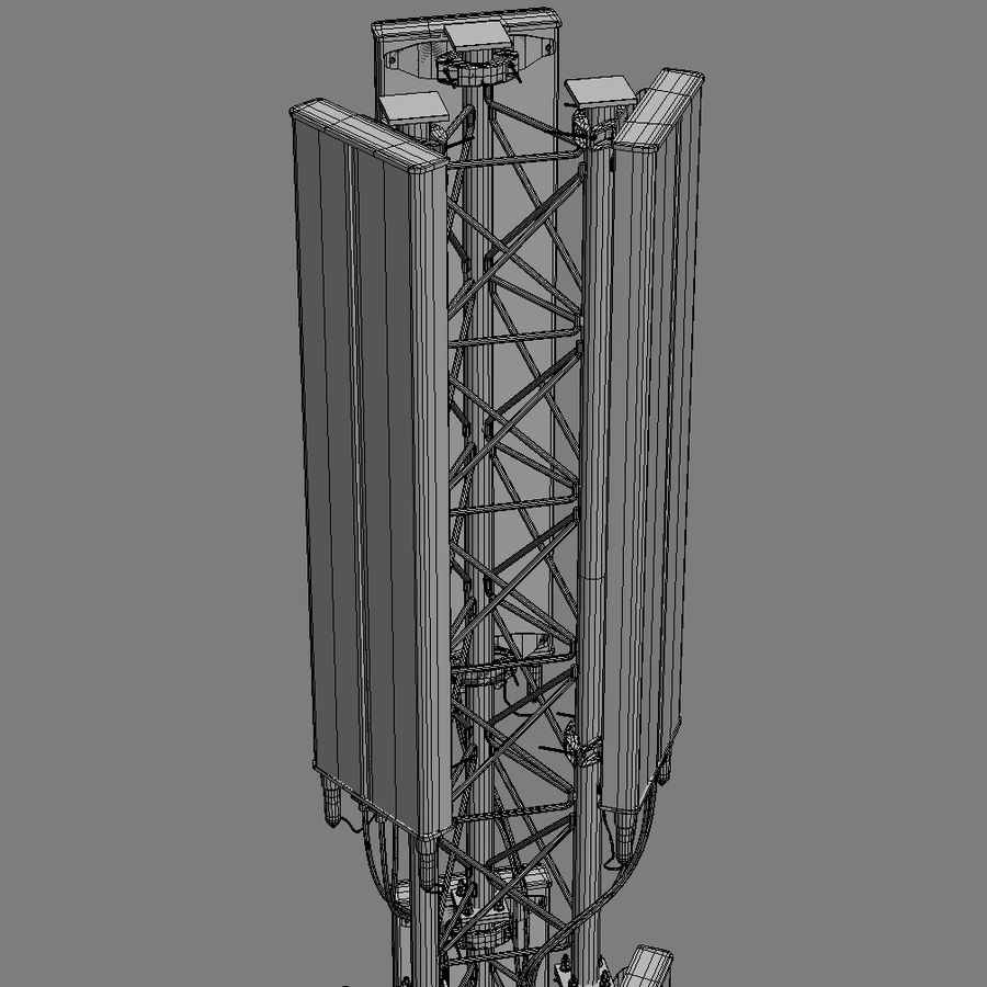 Cell Antenna A royalty-free 3d model - Preview no. 9