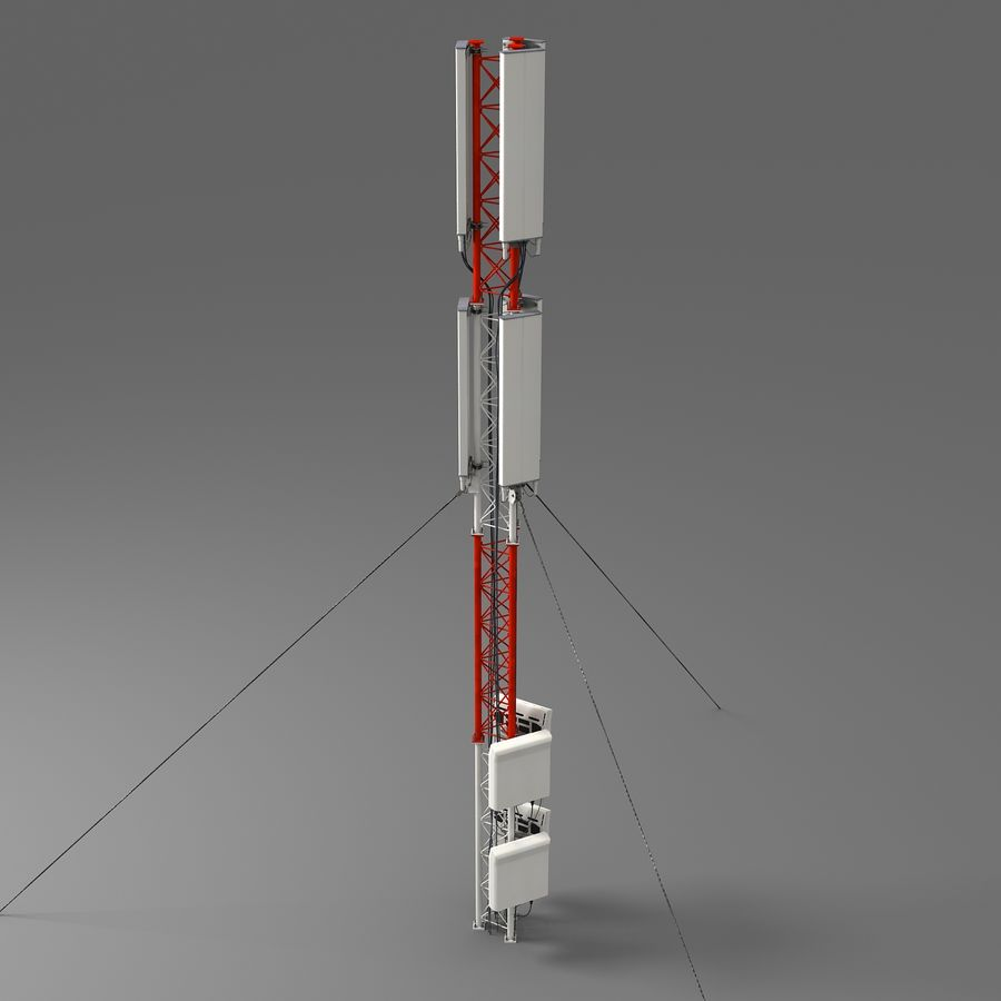 Cell Antenna A royalty-free 3d model - Preview no. 3