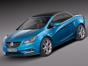 Opel Cascada 2014 3d model