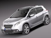 Peugeot 2008 2014 3d model