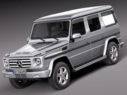 Mercedes clase G 2013 modelo 3d