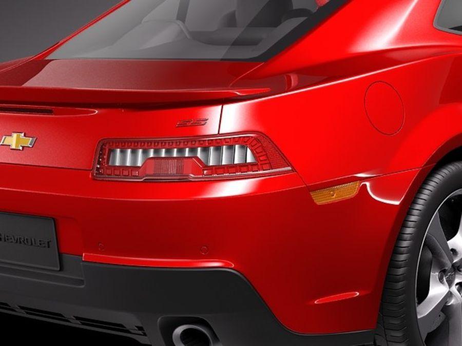 雪佛兰Camaro SS 2014 royalty-free 3d model - Preview no. 4