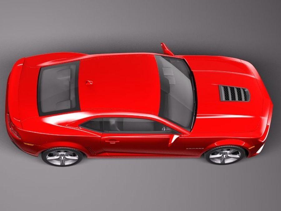 雪佛兰Camaro SS 2014 royalty-free 3d model - Preview no. 8