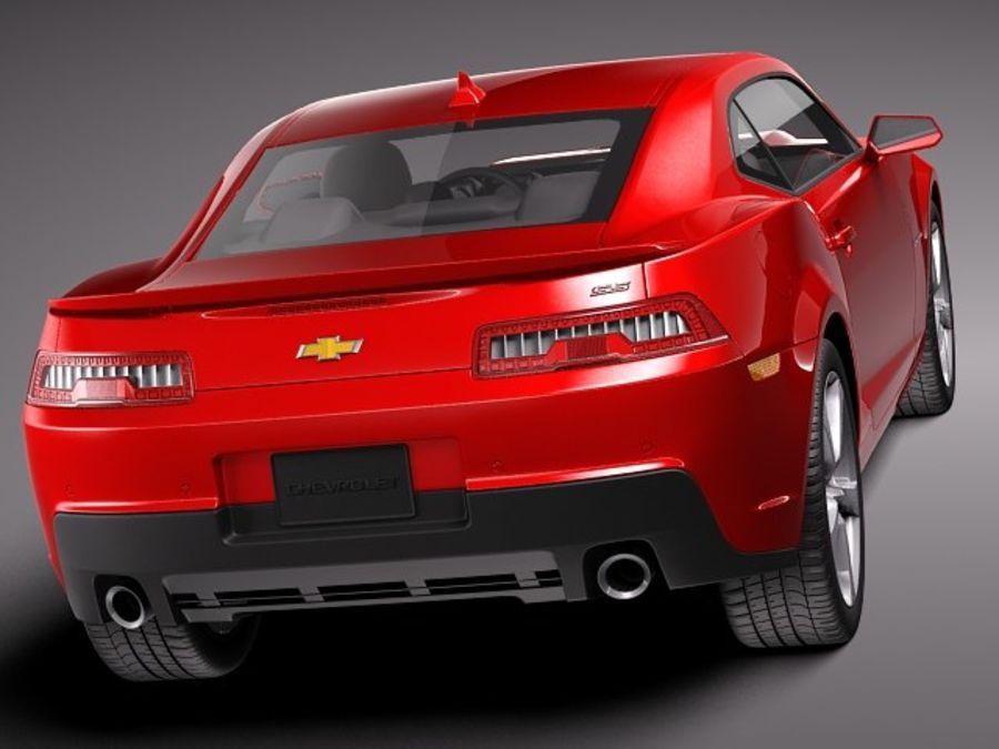 雪佛兰Camaro SS 2014 royalty-free 3d model - Preview no. 5